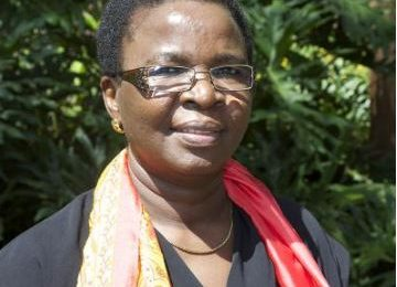 Dr Juliette Biao Koudenoukpo, Director and Regional Representative of the African Office for the UN Environment Programme (UNEP)