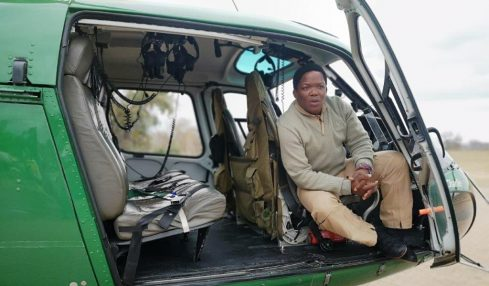 Captain David Simelane, SANParks First Black Pilot.