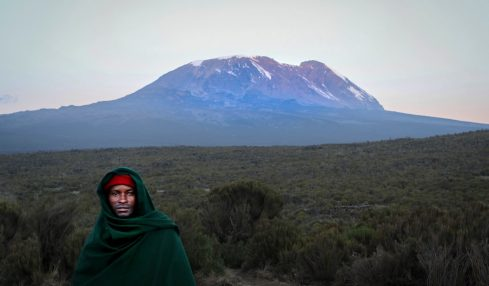 Magnificent Mount Kili in danger