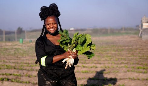 Young female farmer achieves great success with multi-agri approach
