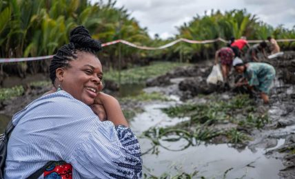 The Nigerian Activist Trying to Sell Plants to the Oil Company That Destroyed Them