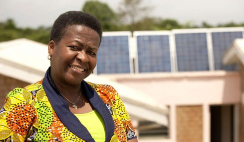 Nigerian female architect turns homes green